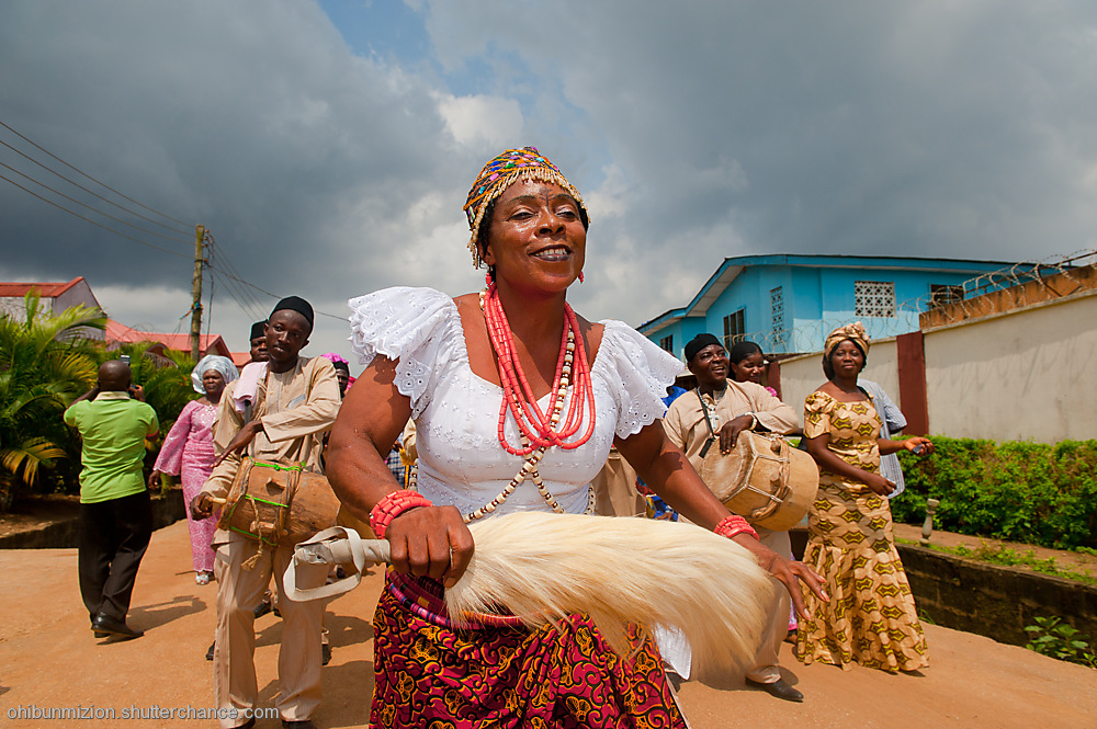 photoblog image The Igbo Dancer